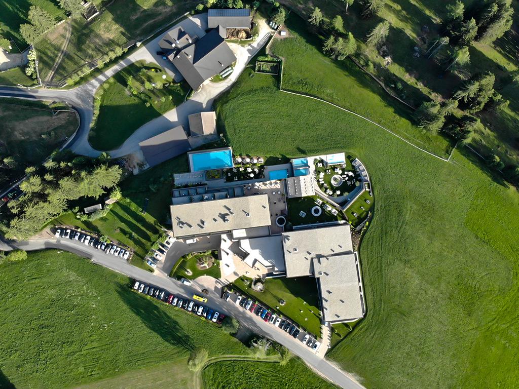 Immagini aeree con droni - Hotel